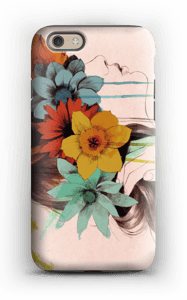 Flower girl case IPhone 6 tough