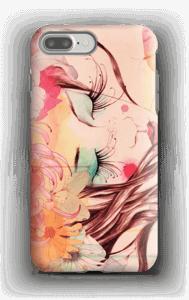 Kukkia hiuksissa kuoret IPhone 7 Plus tough