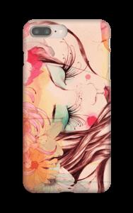 Femme & fleur Coque  IPhone 8 Plus