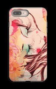 Femme & fleur Coque  IPhone 8 Plus tough
