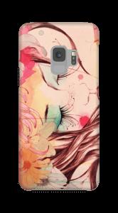 Blomster i hår skal Galaxy S9