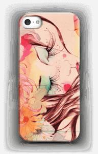 Blomster i hår cover IPhone 5/5S