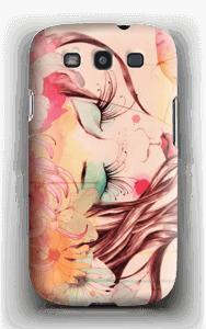 Femme & fleur Coque  Galaxy S3