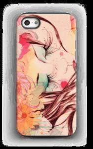 Femme & fleur Coque  IPhone 5/5s tough