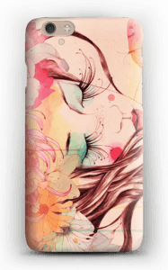 Bloemen in het haar hoesje IPhone 6