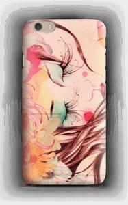 Femme & fleur Coque  IPhone 6 Plus