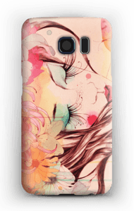 Blomster i hår skal Galaxy S6