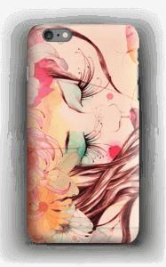 Femme & fleur Coque  IPhone 6s Plus