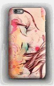 Femme & fleur Coque  IPhone 6 Plus tough