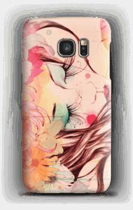 Blomster i hår skal Galaxy S7