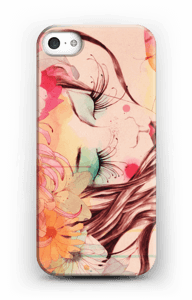 Blomster i hår skal IPhone SE