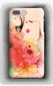 Fleurs dans les cheveux Coque  IPhone 7 Plus