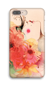 Fleurs dans les cheveux Coque  IPhone 8 Plus