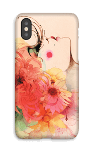 Long Lashes case IPhone X
