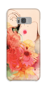 Pige med lange øjnevipper cover Galaxy S8 Plus