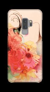 Frau mit langen Augenwimpern Handyhülle Galaxy S9 Plus