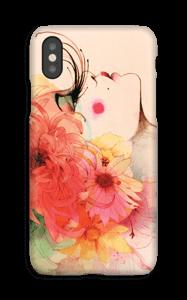 Jente med lange øyevipper deksel IPhone XS