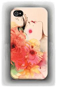 Girl in profile case IPhone 4/4s