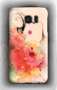 Fleurs dans les cheveux Coque  Galaxy S6
