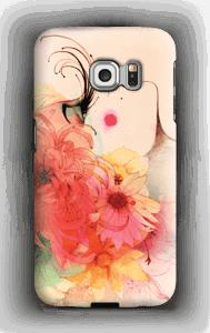 Pitkät ripset kuoret Galaxy S6 Edge