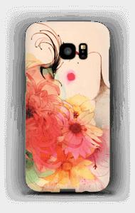 Girl in profile case Galaxy S7 Edge