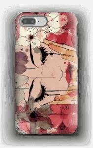 Kukkaiskyyneleet kuoret IPhone 7 Plus tough