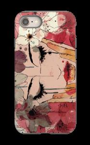 Blomsterjente deksel IPhone 8 tough
