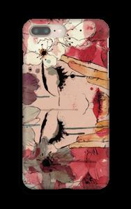 Femme & fleurs Coque  IPhone 8 Plus