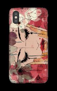 Kukkaiskyyneleet kuoret IPhone X