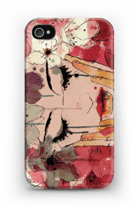 Girl & flowers case IPhone 4/4s