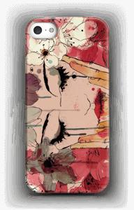 Femme & fleurs Coque  IPhone 5/5S