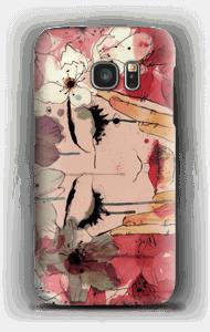 Blumentränen Handyhülle Galaxy S7