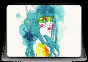 """Die Blaue Frau Skin MacBook Pro Retina 13"""" 2015"""