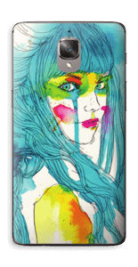 Femme & couleurs Skin OnePlus 3