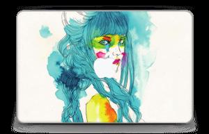 Girl in blue  Skin MacBook Air 11