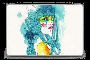 """Girl in blue  Skin MacBook Pro 15"""" -2015"""