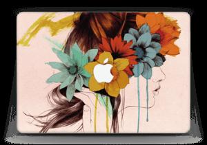 """Flower girl  Skin MacBook Air 13"""""""