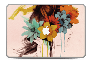 Flower girl  Skin MacBook Pro 17