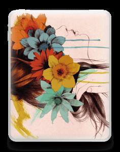Flower girl  Skin IPad 1
