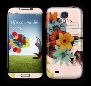 Flower girl  Skin Galaxy S4