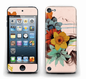 Flower girl  Skin IPod Touch 5th Gen