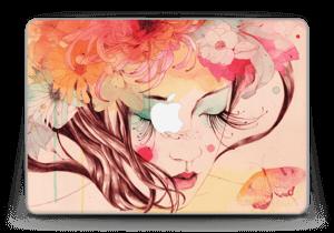 """Blumen und Schmetterling Skin MacBook Pro Retina 13"""" 2015"""