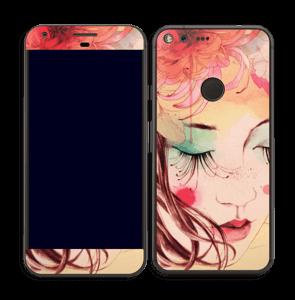 Femme & fleurs 3 Skin Pixel XL