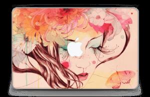 Blushing girl  Skin MacBook Air 11