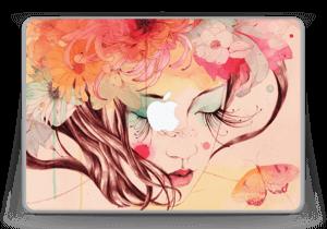 "Flower Girl  Skin MacBook Pro 13"" -2015"