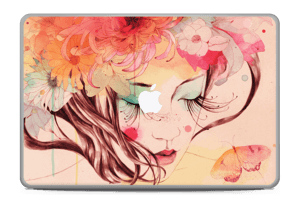 Blushing girl  Skin MacBook Pro 17