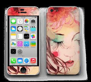 Femme & fleurs 3 Skin IPhone 5c