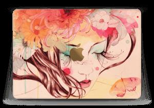 Blushing girl  Skin MacBook 12