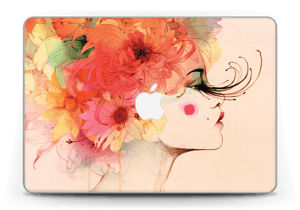 """Femme & fleurs 2 Skin MacBook Pro Retina 13"""" 2015"""