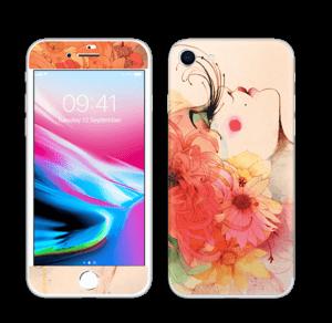 Femme & fleurs 2 Skin IPhone 8